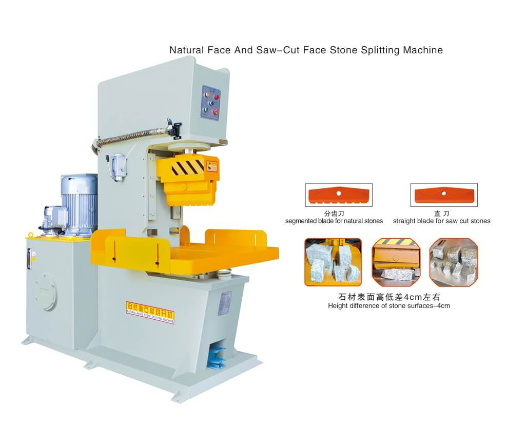Hydraulic Paver Splitting Machine