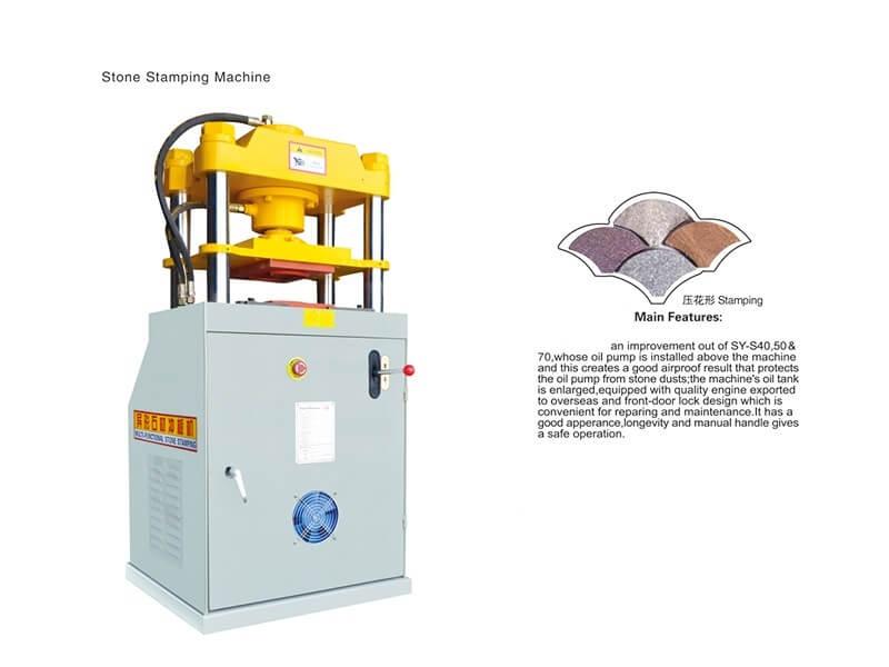 Stone Stamping Machine