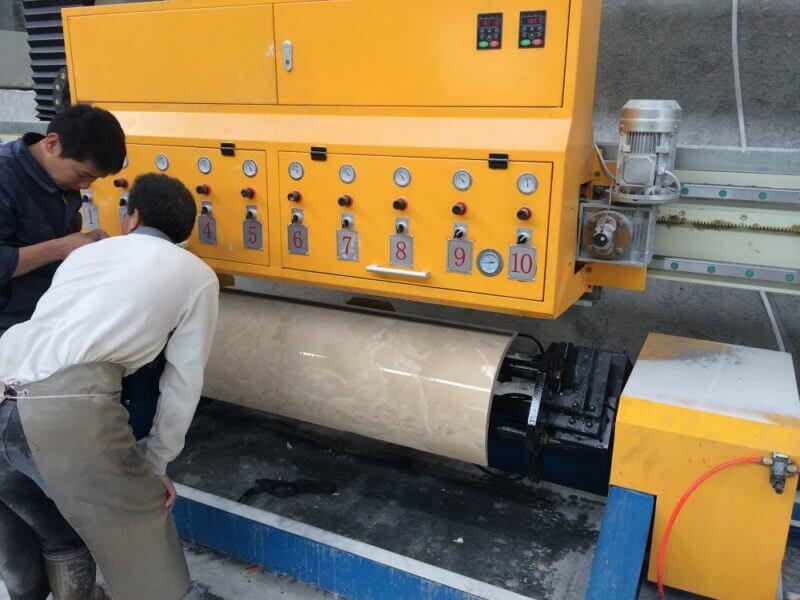 Automatic Arc Slab Polishing Machine