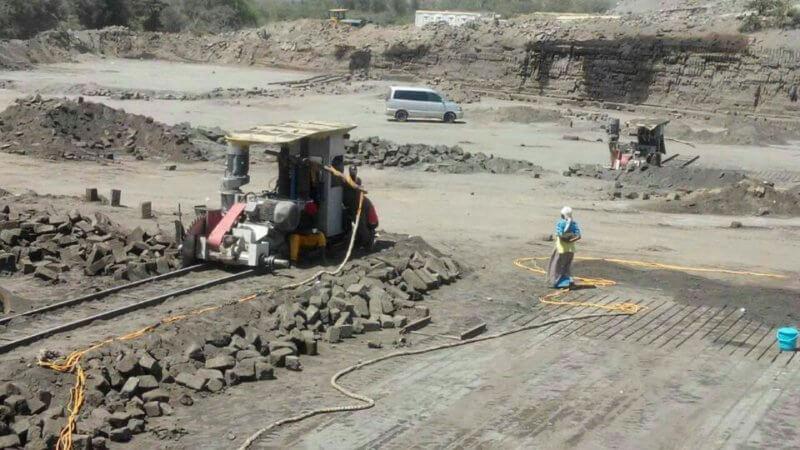 Sandstone Quarry Cutting Mining Machine