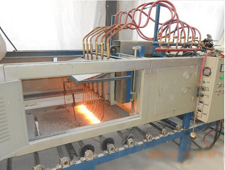 Stone Flaming Machine