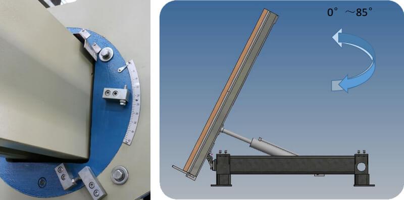 XZQQ-625A Bridge Saw Cutting Machine